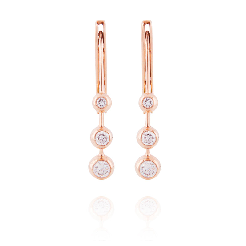 Dancing Diamond Earrings