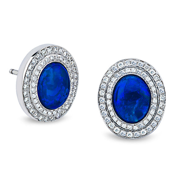 Katherine Jetter Classic Opal Studs
