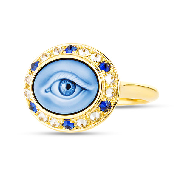AnaKatarina Eye Love Mini Ring