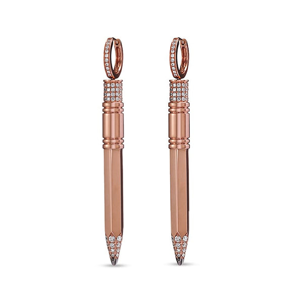 Medium Pencil Drop Earrings