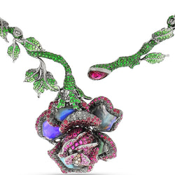 Rose and Thorns Necklace
