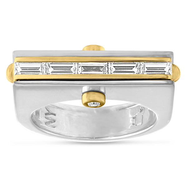 The Entrepreneur, #BeBalanced Hinge Ring
