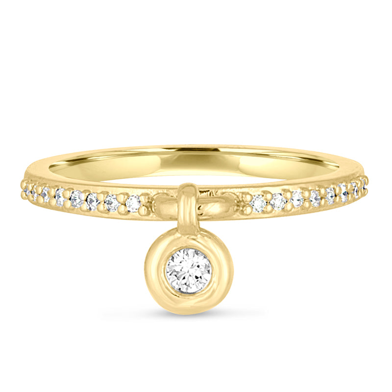 Queen of Bounce' Charm Ring, 18K