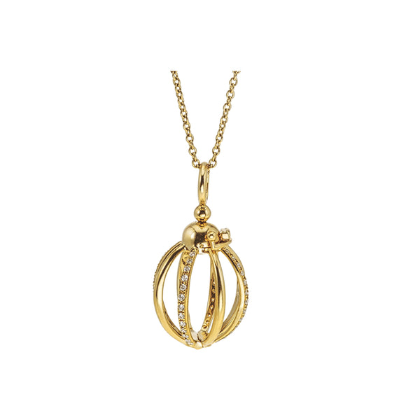 Katherine Jetter Small Cage Necklace