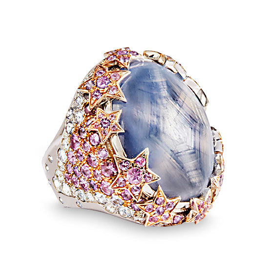 Katherine Jetter Grey Star Sapphire Ring III