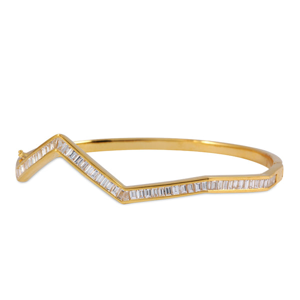 Oragami Ziggy Bangle
