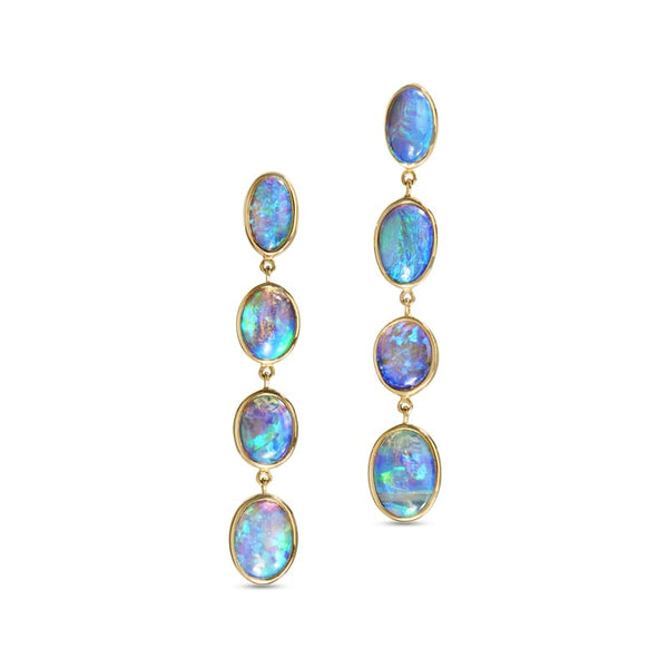 Katherine Jetter Four Opal Drop Earrings