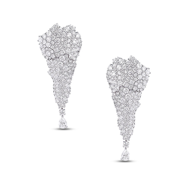 Legends Of Africa Earrings In All Diamonds
