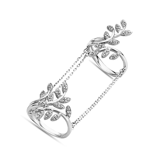 Leaves Double-Chain Ring