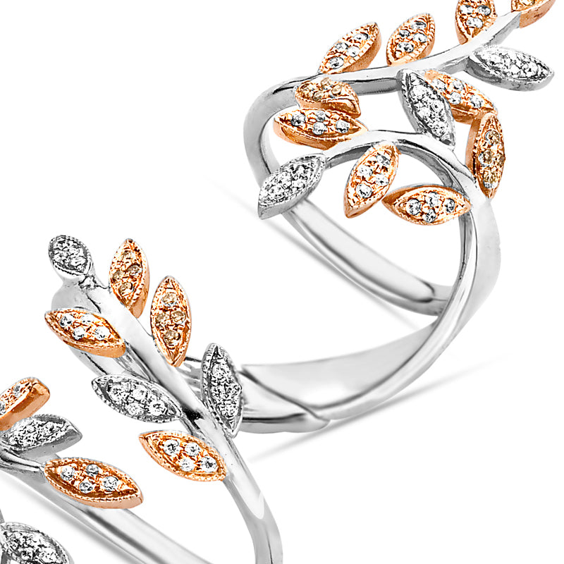 Wrap Leaves Ring