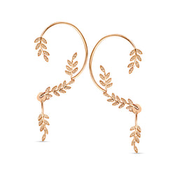 Leaves Statement Earcuff