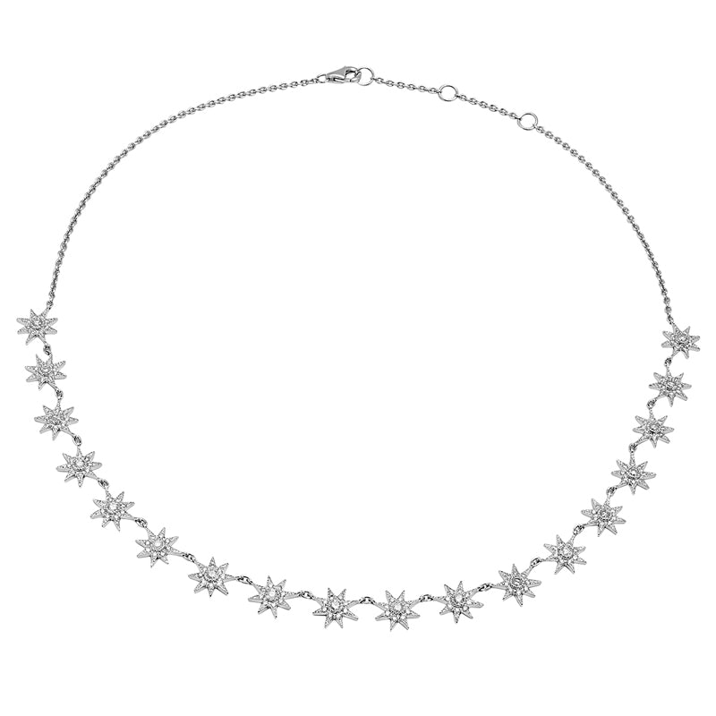 Colette Glow Necklace with Black Diamonds