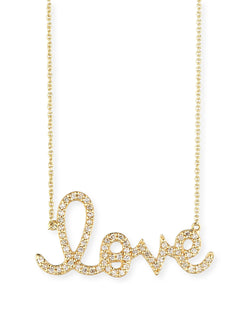 Sydney Evan Big Love Necklace | Swoonery