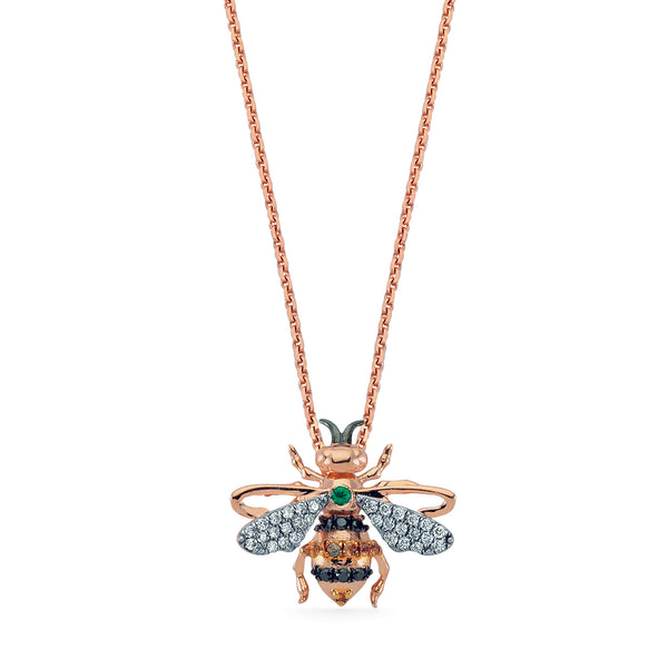 Queen Honey Bee Pendant