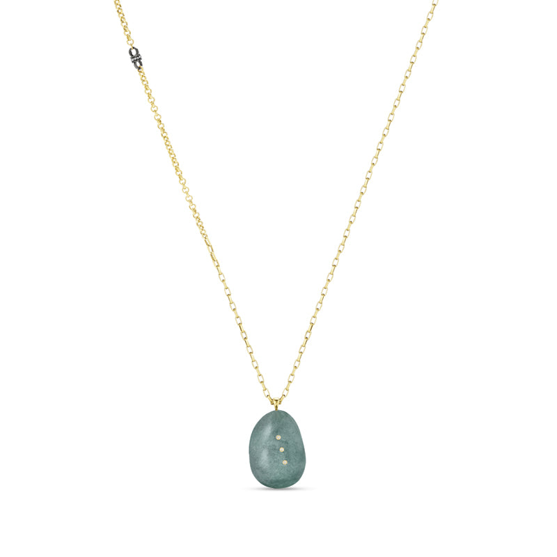 Paige Novick Gem Story Angelite Necklace