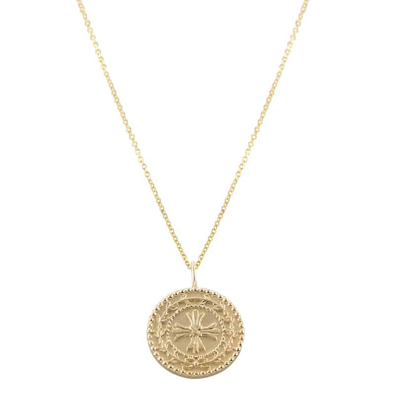 Protection Medallion Necklace