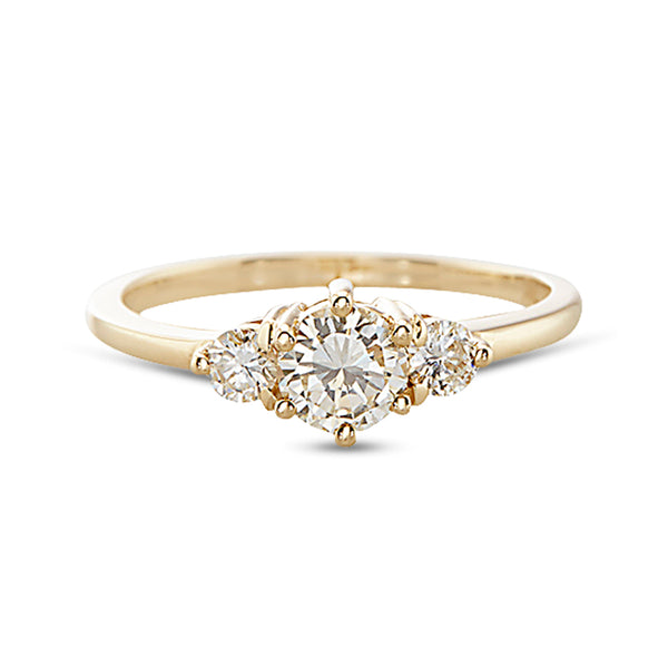 Vale Brilliant Cut Diamond Tidals Ring