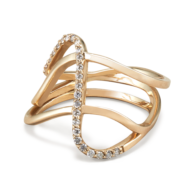 Paige Novick Row Ring