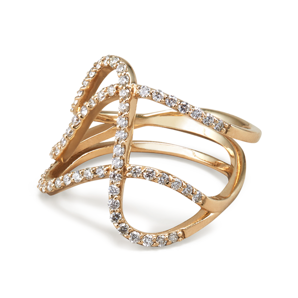 Paige Novick Diamond Row Ring