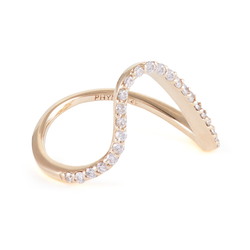 Paige Novick Curved Single Band