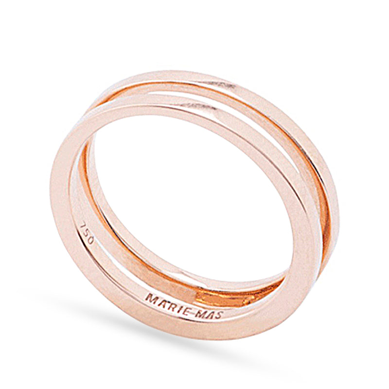 Pink Swiveling Wedding Band