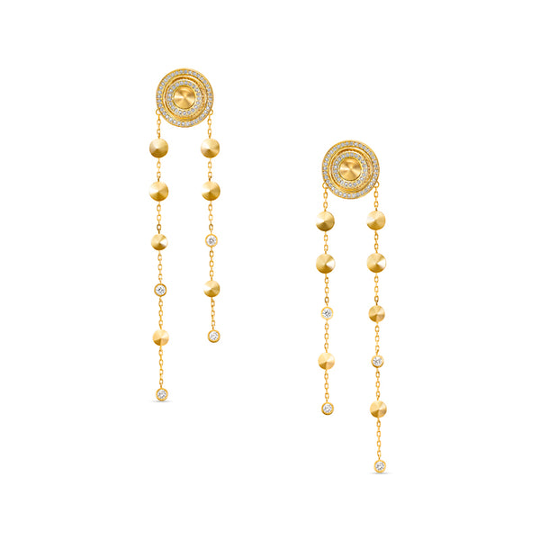 Sahara Subtle Fringe Earrings
