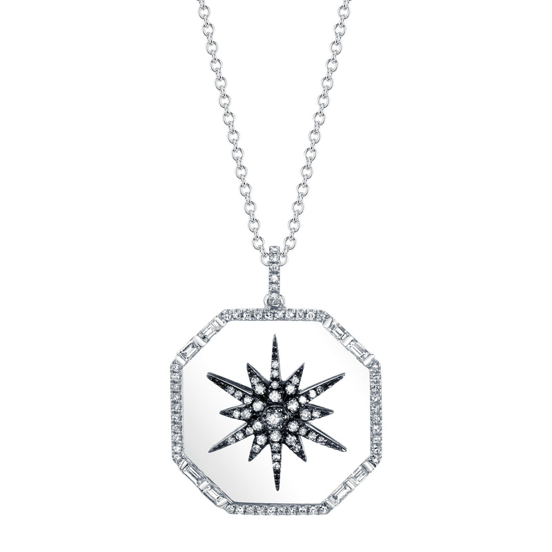 Starburst Disk Necklace