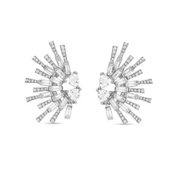White Topaz Sunshine Earring