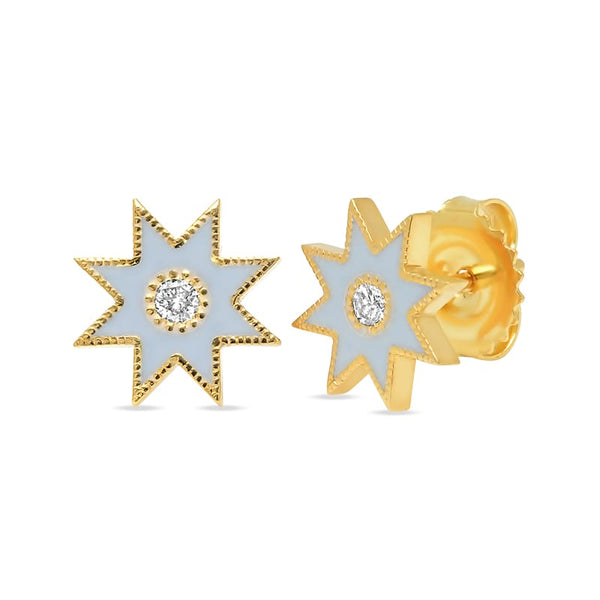Colette Muticolored Enamel Star Cuff