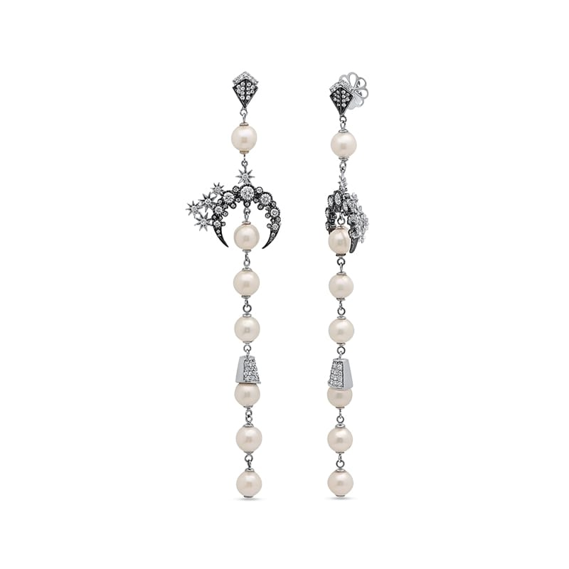 Colette Meteor Star Drop Earrings