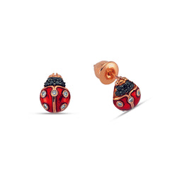 Secret Garden Ladybug Earrings