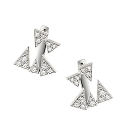 Diamond Capture Me Earrings