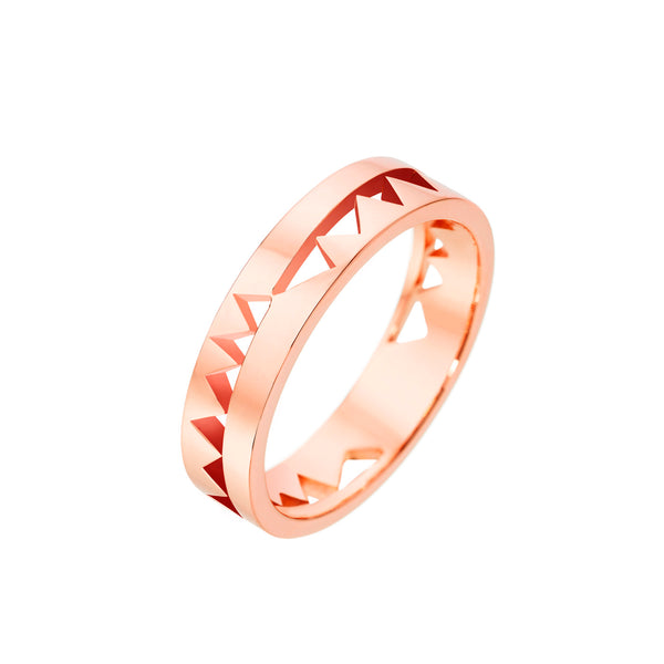 Rose Gold Capture Me Band Ring