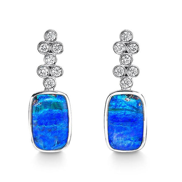 Katherine Jetter Classic Opal Drop Earrings