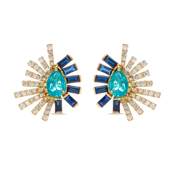 Apatite Mini Earring La Belle Duo