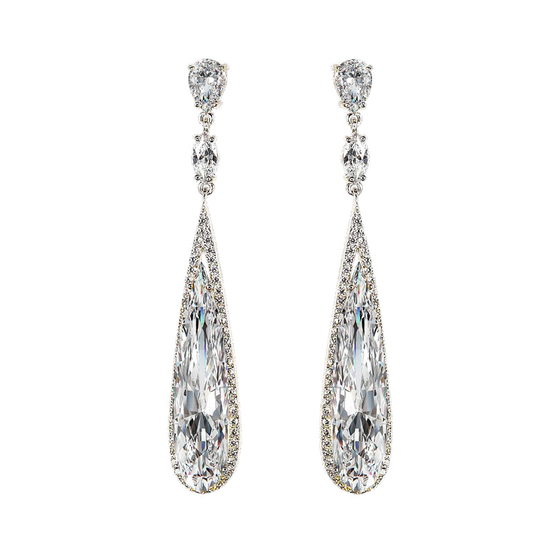 Lab-Grown Diamond Shard Earrings