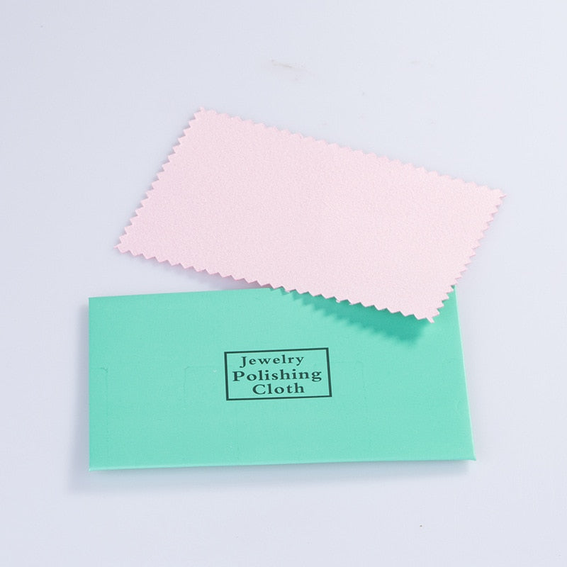 Gold & Silver Jewelry Polishing Cloth