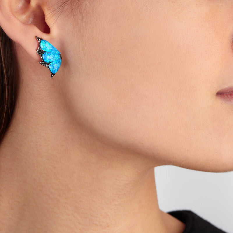 Fly By Night Crystal Haze Earstuds