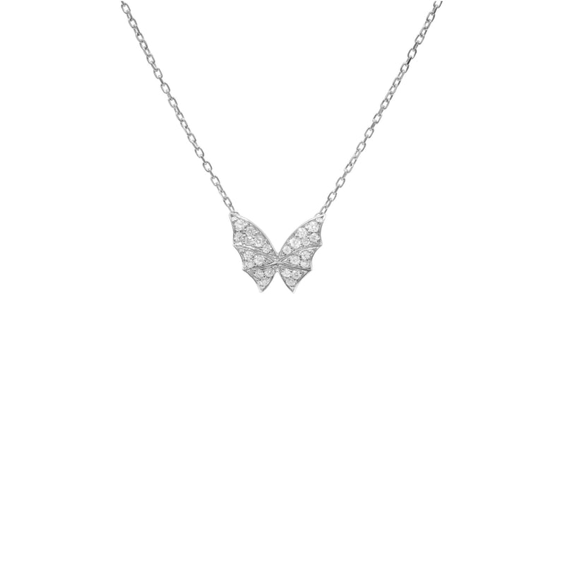 Fly By Night Pavé Small Necklace