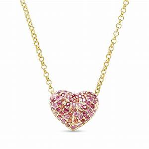 Puffy Heart Necklace