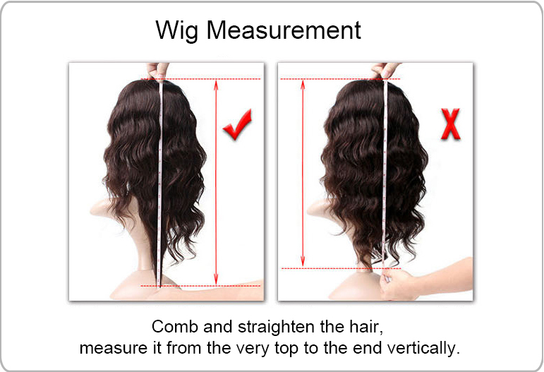 Wig Length Guide--Choose the perfect length