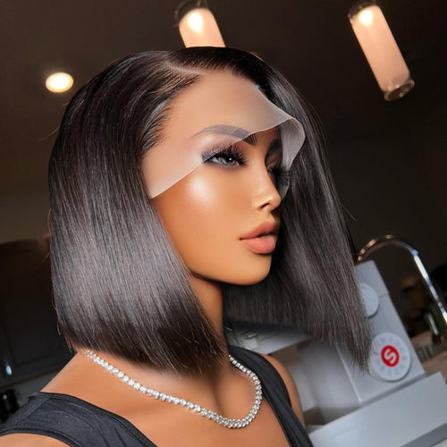Fullness High Density 360 Lace Wig Kinky Straight