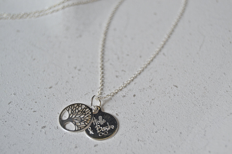 Kette Tree of Life Silber