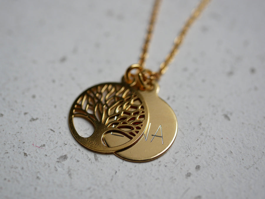 Kette Tree of Life Gold
