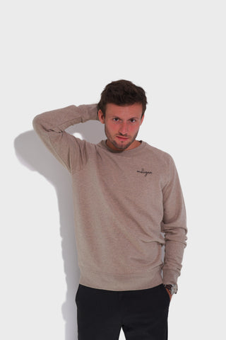 GLANG GOLF - LIFESTYLE - Sweat Dandy MULLIGAN - Heather Sand