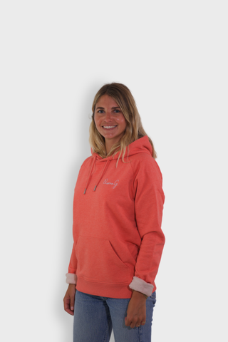 GLANG GOLF - LIFESTYLE. Hoodie Stellar QUEEN G - Heather Coral