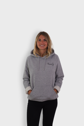 GLANG GOLF - LIFESTYLE. Hoodie Stellar QUEEN G - Heather Grey