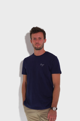 GLANG GOLF - LIFESTYLE. T-shirt Iconic STINGER - Dark Heather Blue