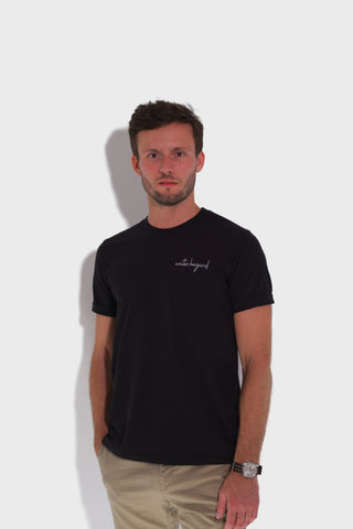 GLANG GOLF - LIFESTYLE. T-shirt Liberty WATER HAZARD - Black