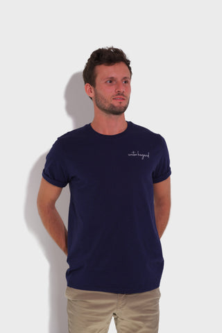 GLANG GOLF - LIFESTYLE. T-shirt Liberty WATER HAZARD - Dark Heather Blue